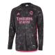 Camiseta de Manga Larga de Fútbol Personalizada 3ª Real Madrid 2020/21