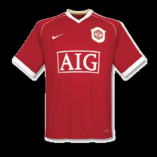 Camiseta de Fútbol Personalizada 1ª Manchester United 2006/07 Retro