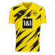 Camiseta de Fútbol Personalizada 1ª Borussia Dortmund 2020/21
