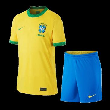 Conjuntos de Fútbol Personalizada  1ª Brazil 2021