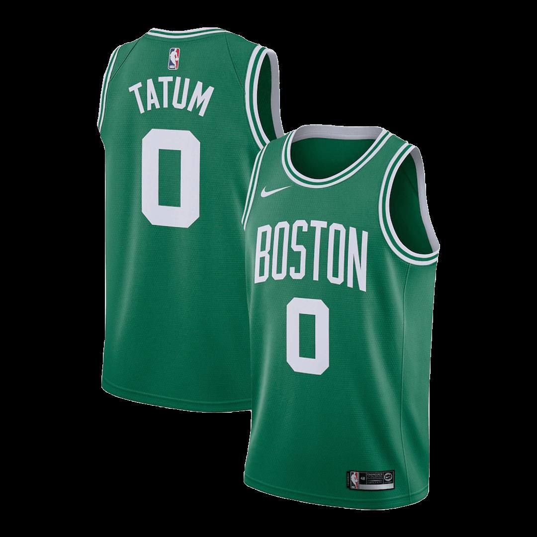 Camiseta NBA de Boston Celtics Tatum #0 Swingman