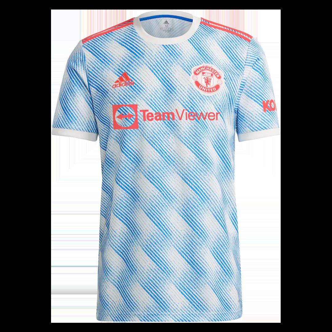 Camiseta de Fútbol RONALDO #7 Personalizada 2ª Manchester United 2021/22