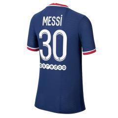 Camiseta de Fútbol Messi #30 Personalizada 1ª PSG 2021/22