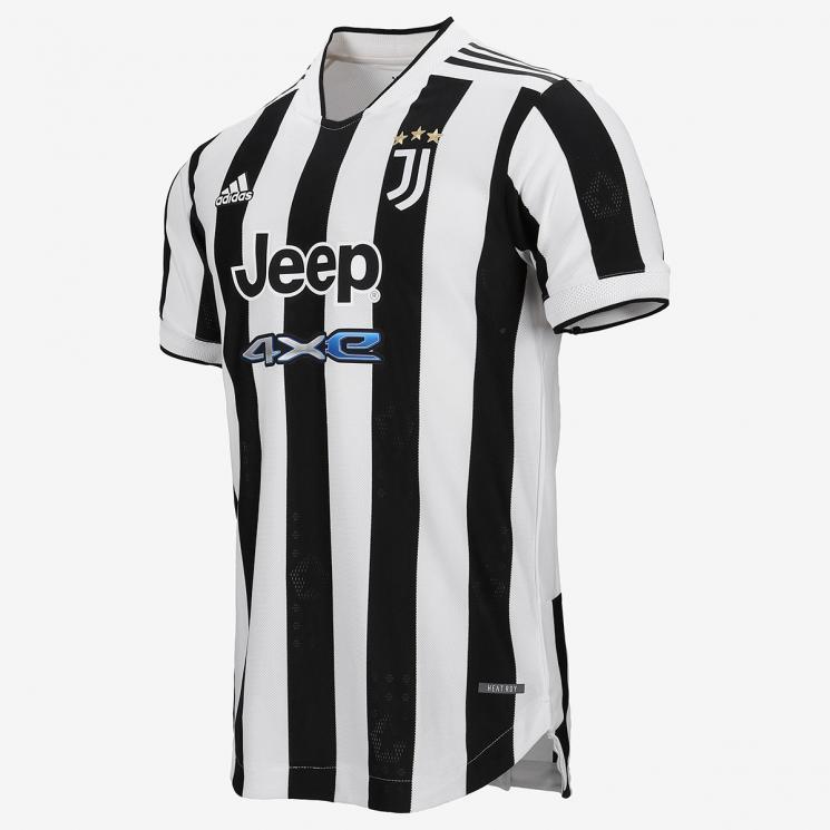 Camiseta Authentic de Fútbol Personalizada 1ª Juventus 2021/22