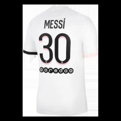 Camiseta de Fútbol Messi #30 Personalizada 2ª PSG 2021/22
