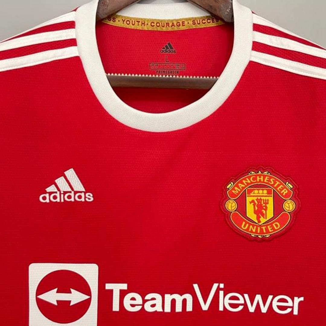 Camiseta de Fútbol 1ª Manchester United 2021/22